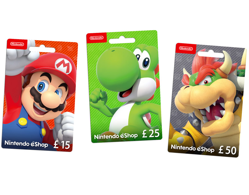Nintendo eShop Gift Card, Never Ending Level, neverendinglevel.com