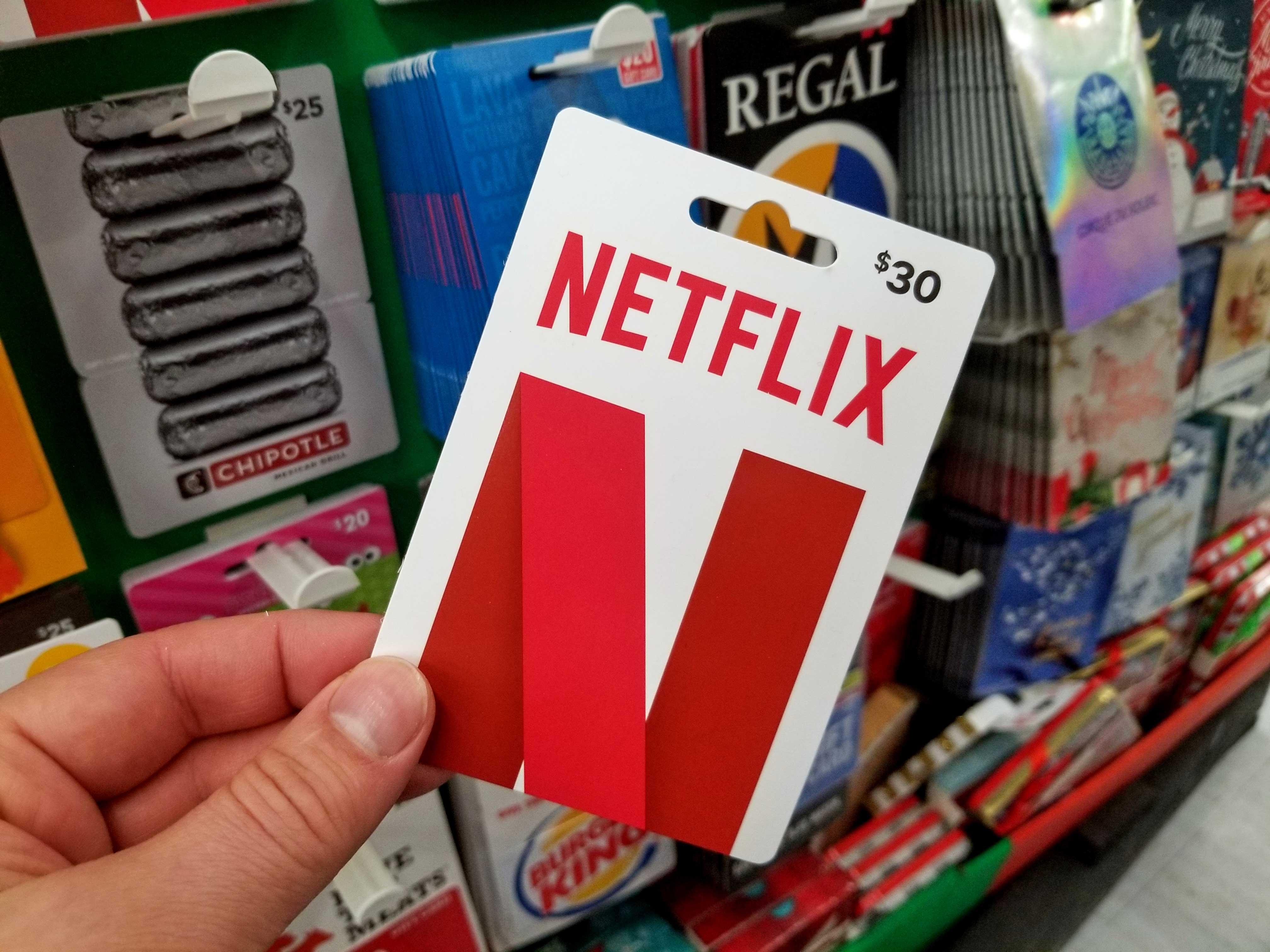 netflix-gift-card, Never Ending Level, neverendinglevel.com